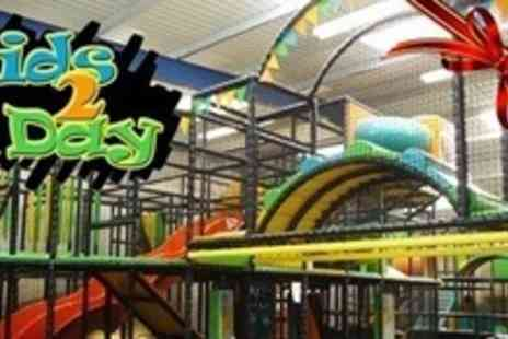 Kids Today - Family Pass to Indoor Play Centre With Drinks and Childrens Chocolate Easter Eggs - Save 60%
