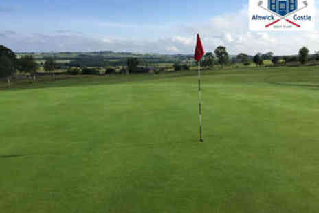 Alnwick Castle Golf Club - Full Day of Golf for Two - Save 73%