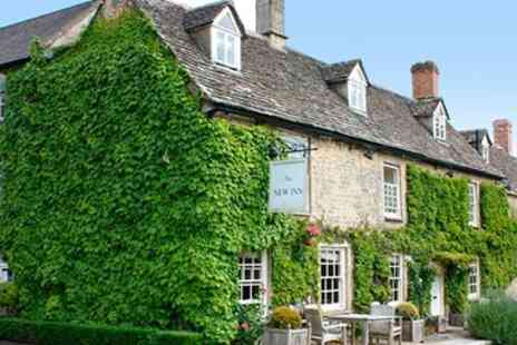 The New Inn - Overnight in Cotswolds Stay for two with Breakfast - Save 53%