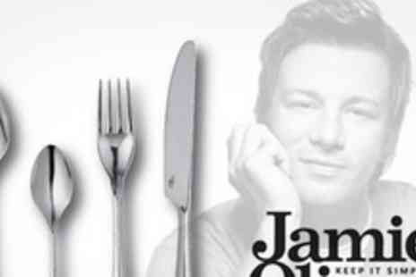 Merison UK - Groupon For Jamie Oliver 32 Piece Stainless Steel Cutlery Set - Save 50%