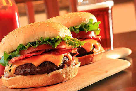 What's Cooking - £12 for two burger meals and two beers worth up to £29.50 - Save 59%
