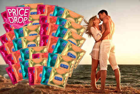 Merchtopia - 60 Durex in four different varieties - Save 64%