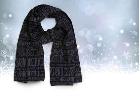 Wowher Direct - Roberto Cavalli 100% wool designer scarf - Save 63%
