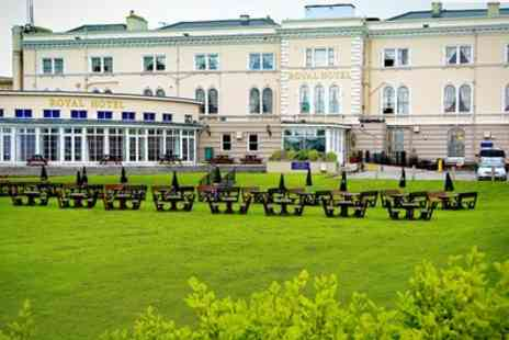 The Royal Hotel - Two Nights stay For Two With Breakfast, Tea And Muffins - Save 53%