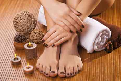 Studio 25 - Gel Manicure or Pedicure - Save 40%