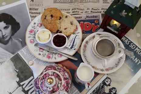 Tealicious Vintage Tea Room - Cream Tea for Two - Save 47%