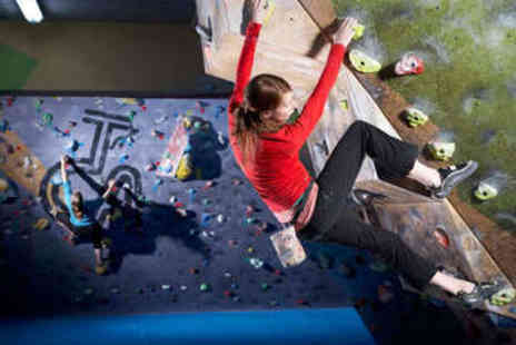 The Climbing Academy - Two Indoor Bouldering Passes for One - Save 69%