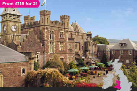 Craig Y Nos Castle - Three night s stay for two with Dinner in Swansea - Save 0%