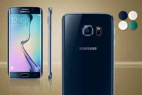 Buymobiles.net - Samsung Galaxy S6 Edge 32GB when you sign up for a 24 month contract - Save 85%