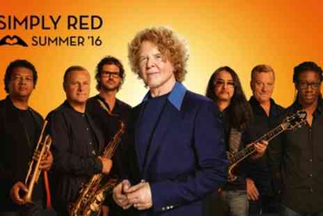 Kilimanjaro Live - Ticket to Simply Red on Sunday 19th June - Save 0%