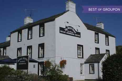 Royal Hotel at Dockray - One or Two Nights stay For Two With Breakfast  - Save 0%