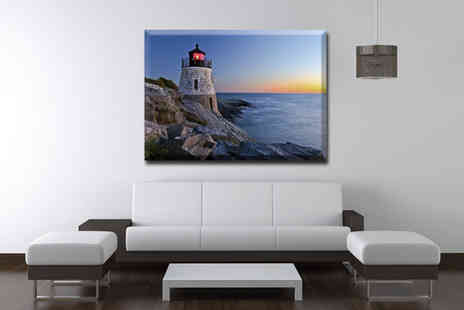 Fast Canvas Prints - £8.49 for an A3 canvas print worth £44.99,  a stylish masterpiece for your home - Save 81%