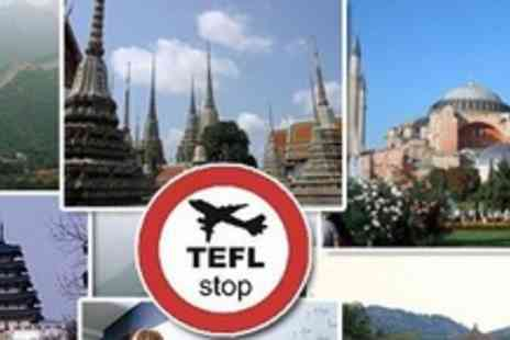 TEFLstop - Teach and Travel Online TEFL Course Including Accredited Certificate and Job Scheme - Save 83%