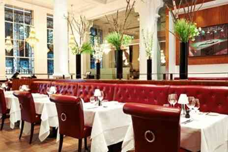Marco Pierre White Wheelers - Meal and Bubbly for Two - Save 21%
