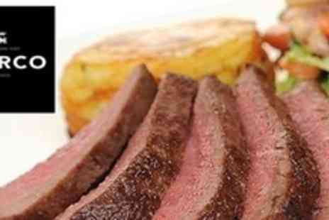MARCO - Two Course Steak Meal For Two - Save 53%