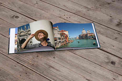 Smiley Hippo - 106 page A4 landscape photobook with hardback printed cover - Save 81%