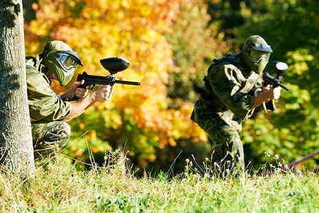 Campsie Commandos - Paintball day for five including 100 paintballs and lunch each - Save 96%