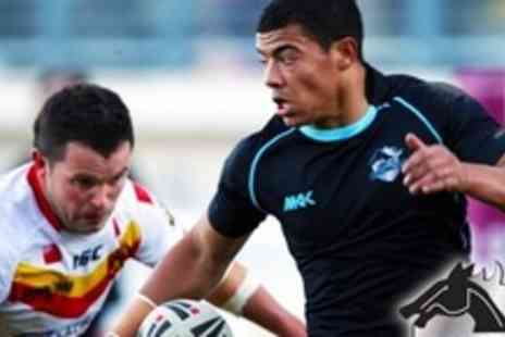 London Broncos - Two Adult Tickets To London Broncos v Wakefield Trinity Wildcats - Save 53%