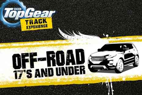 Top Gear Track Experience - Kids  4x4 Driving Experience   - Save 57%
