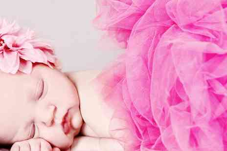 Epic Photography - Newborn, Makeover or Family Location or studio Photoshoot with Prints  - Save 93%