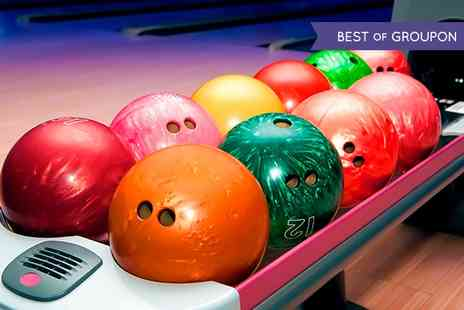 Kingpin Bowling - Three Games of Bowling For Four  - Save 60%