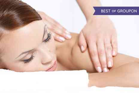Escape - Facial With Back, Neck and Shoulder Massage  - Save 48%