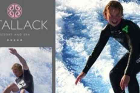 Retallack Resort and Spa - 60 Minute Loop FlowRider Experience - Save 52%