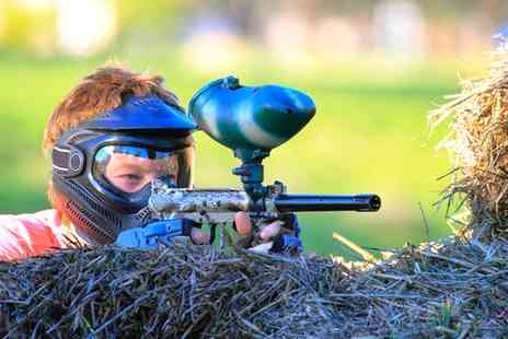 The Paintball Venue - Paintball Party for Up to 10 Children with Snack   - Save 83%