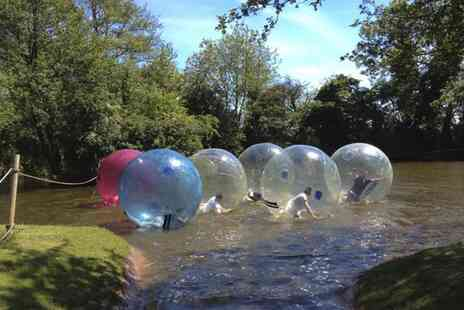Pump It Up Events  - Winter Water Zorbing Experience for Up to Eight   - Save 50%