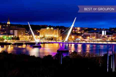 City Hotel Derry - One or Two Nights stay For Two With Breakfast, Dinner, Wine and Leisure Access - Save 0%
