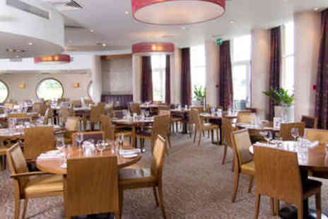 The Langstone Hotel - Gourmet Portsmouth Getaway Plus Dinner - Save 49%