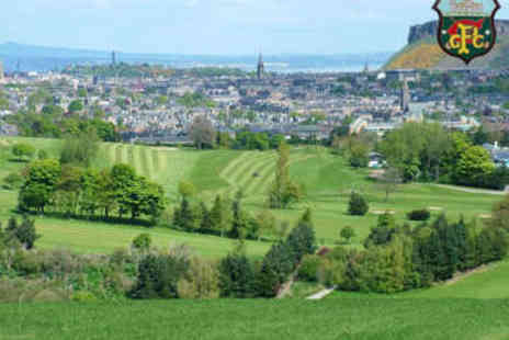 Craigmillar Park Golf Club - 18 Holes of Golf with Bacon Roll and Coffee - Save 57%