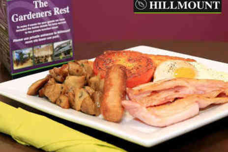 Hillmount -  £10 to Spend on Breakfast for Two - Save 50%
