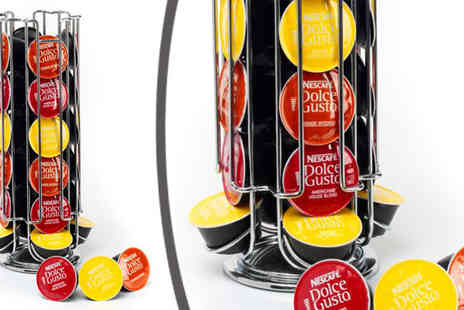 Neodirect - Rotating Dolce Gusto Coffee Pod Holder - Save 67%