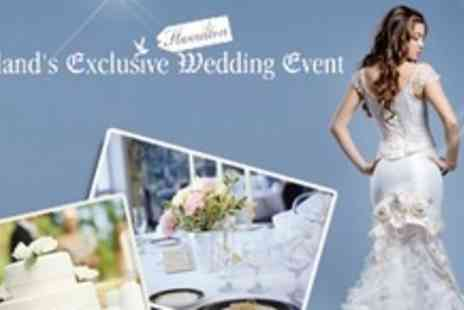 Scotlands Exclusive Wedding Event - Day Ticket to Scotland's Exclusive Wedding Event For Two With Programme Each - Save 48%