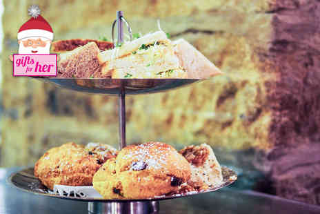 The Keys - Afternoon tea for two including a glass of bubbly each - Save 57%