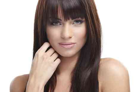 B In The City - Cut, Blow Dry and Conditioning Treatment with Optional Colour  - Save 70%