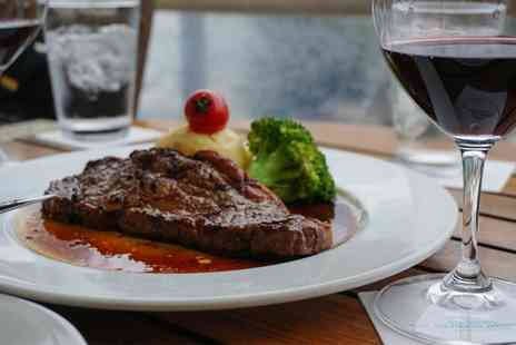 Brandy Hole - Steak Meal with Wine for Two  - Save 0%