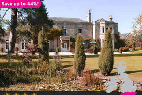 Guyers House Hotel - Overnight stay for Four Star Luxury in Corsham - Save 44%