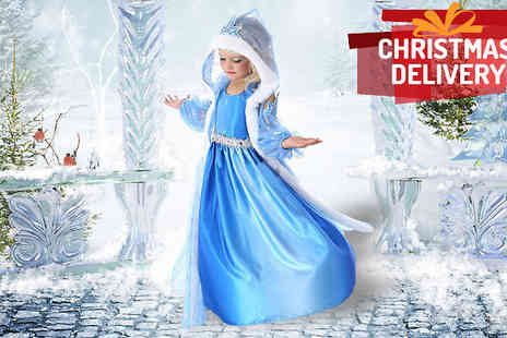 AthenaFashion E Store - Snowflake Princess Hooded Dress - Save 75%