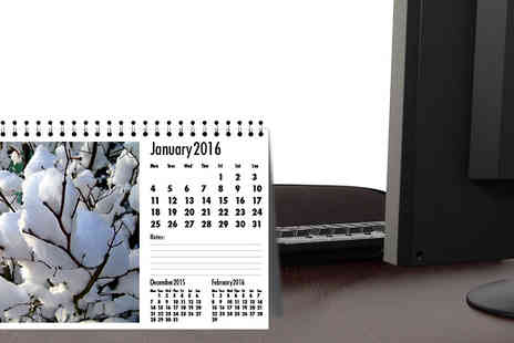 askprint - 2016 A5 Personalised Desk Calendar - Save 54%