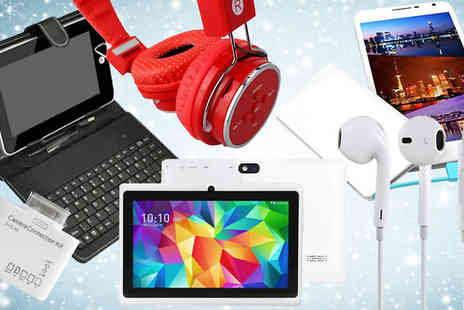 tecwizz - Mystery Electronics Deal - Includes Tablets, Cases, Headphones and More - Save 0%