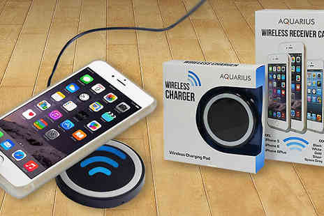 Harvey Robb Ltd - Aquarius Contactless Smartphone Charger - Save 63%