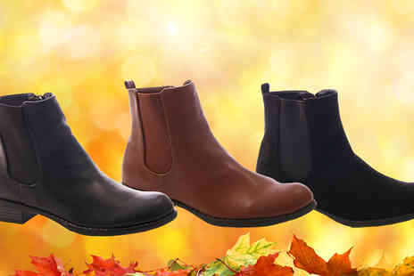 Solewish - Womens Chelsea Boots Available in Three Styles - Save 77%