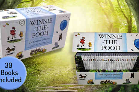 Snazal - Winnie the Pooh Complete Collection 30 Book Set - Save 0%