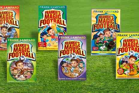 Snazal - Frankies Magic Football Six Book Collection - Save 0%