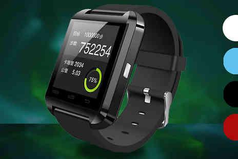 121 Mart - Bluetooth Smart Watch Four Colours - Save 81%