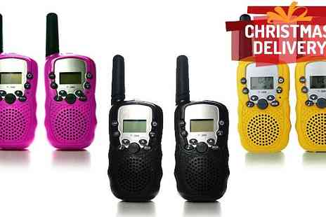 J & Y Ltd - 3km Range Walkie Talkies - Save 63%