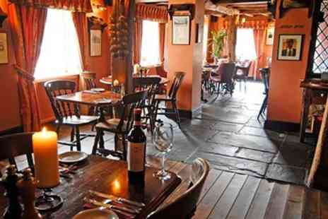 The Boot Inn - Three Course Meal for Two - Save 46%