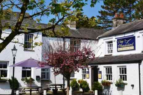 The Pheasant Inn - Winning Dinner and Bubbly for Two - Save 49%